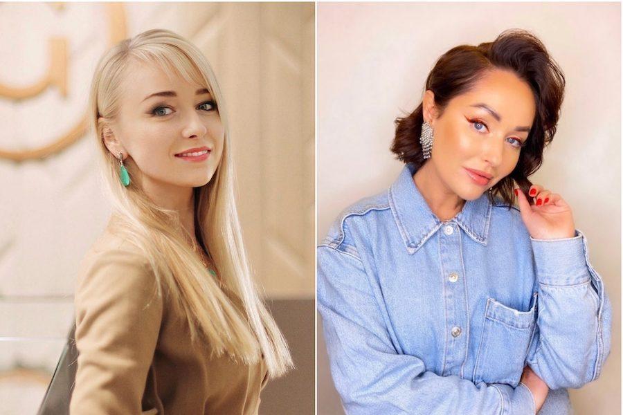 Noored naisettevõtjad ravpaastumisest Julia Šandra ja Olga Bõkova.